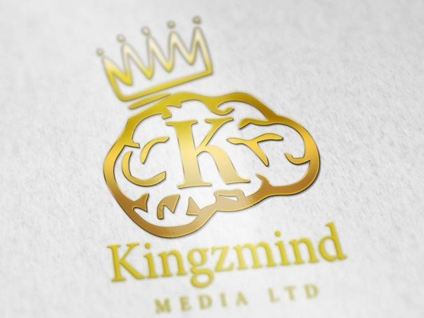 Logo design for Kingzmind Media Ltd