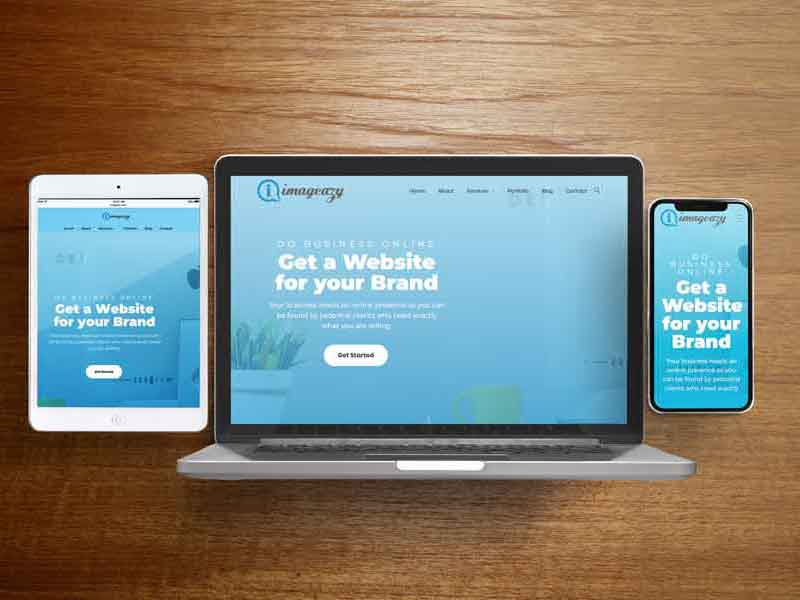 web design services - imageazy designs