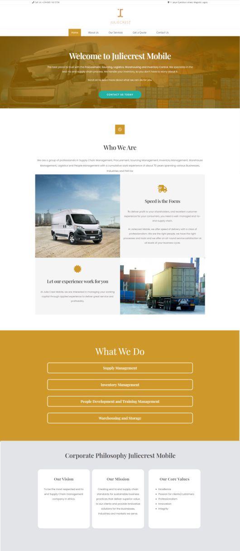 Juliecrest Website