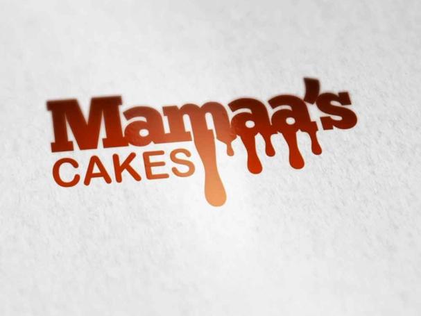 Mamaa's cakes Logo Design