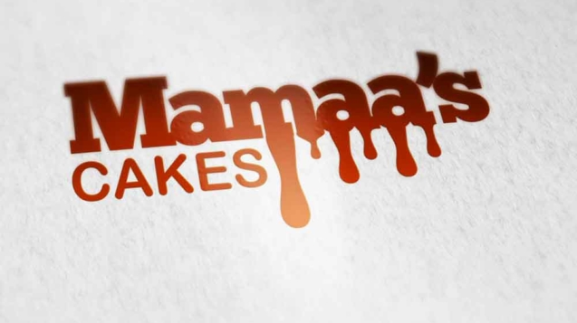 Mamaa's cakes Logo Design