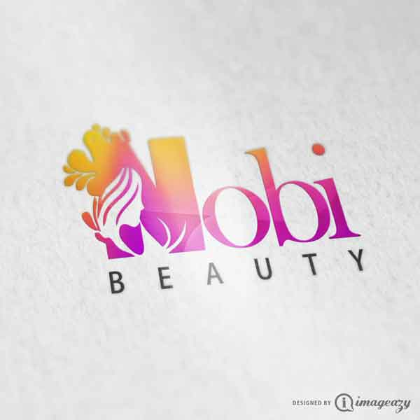 Nobi Beauty Logo Design