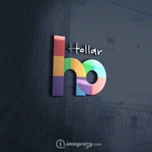 Hollar Logo mockup