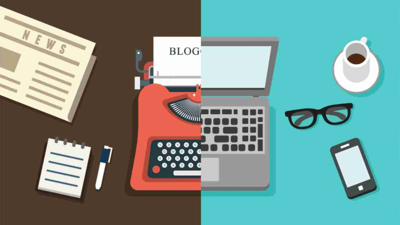 blogging - old and new